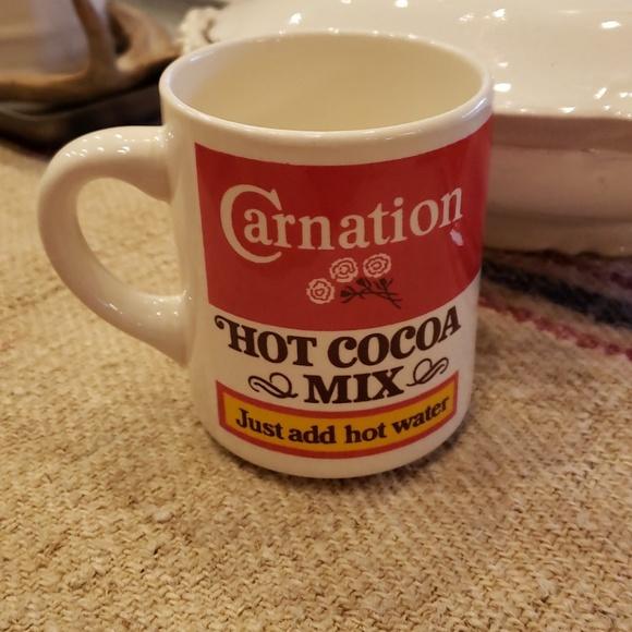 Carnation Other Vintage Hot Cocoa Mug Poshmark